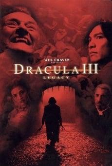 Ver película Drácula 3: Legado