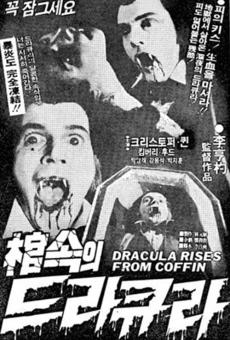 Ver película Dracula Rises from Coffin
