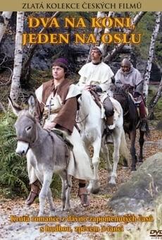 Ver película Dva na koni, jeden na oslu