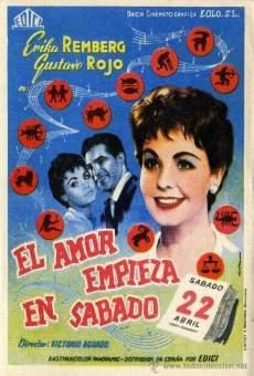 Ver película El amor empieza en sábado