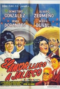 Ver película El amor llegó a Jalisco