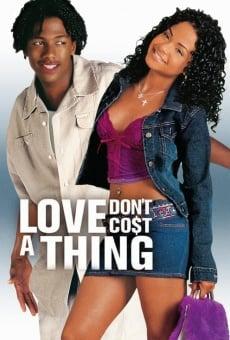 Ver película El amor no cuesta nada
