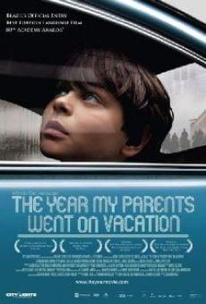 Ver película El año que mis padres se fueron de vacaciones