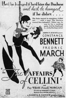 Les amours de Cellini