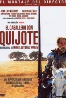 Ver película El caballero Don Quijote
