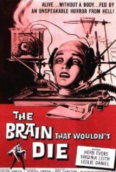 Ver película El cerebro que no quería morir