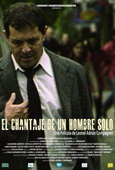 Película: El chantaje de un hombre solo