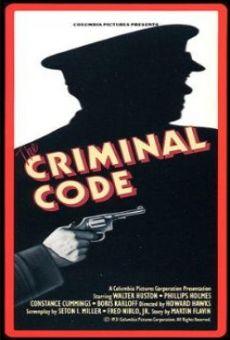 Ver película El código criminal