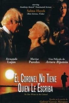 Ver película El coronel no tiene quien le escriba