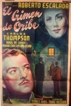 Ver película El crimen de Oribe