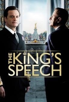 El discurso del rey online
