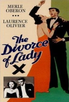 Ver película El divorcio de la señorita X