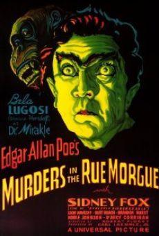 Ver película El doble asesinato en la calle Morgue