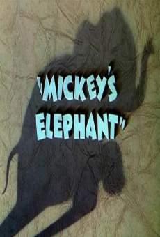 Ver película El elefante de Mickey