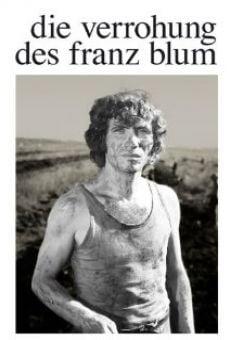 La déchéance de Franz Blum