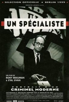 Ver película El especialista, retrato de un criminal moderno