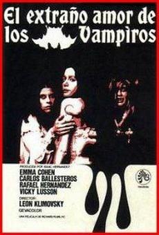 Ver película El extraño amor de los vampiros