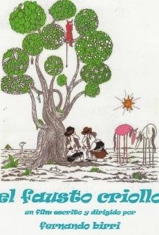 Ver película El Fausto Criollo