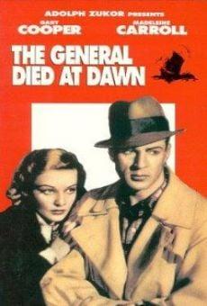 Ver película El general murió al amanecer