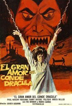 El gran amor del conde Drácula online gratis
