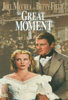 Ver película El gran momento