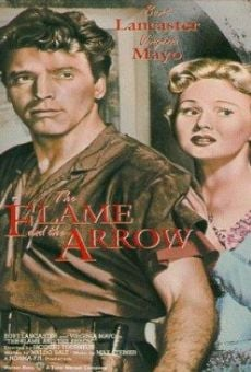 the flame and the arrow 1950 film en fran ais cast et bande annonce. Black Bedroom Furniture Sets. Home Design Ideas
