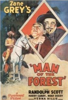 Man of the Forest online free