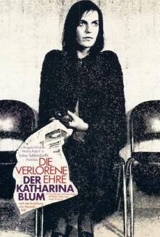 Die Verlorene Ehre der Katharina Blum oder: Wie Gewalt entstehen und wohin sie führen kann on-line gratuito