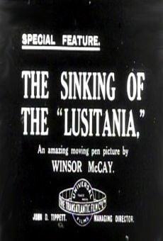 Ver película El hundimiento del Lusitania