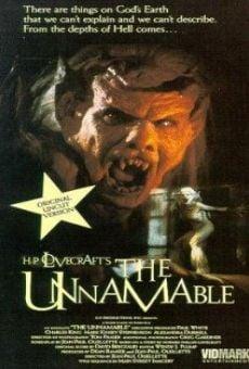 Ver película El innombrable