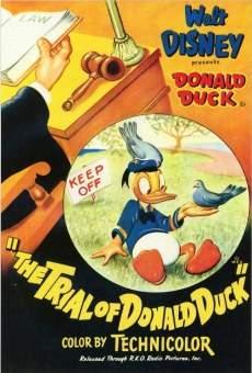 El juicio del Pato Donald online gratis