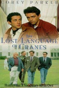 El lenguaje perdido de las grúas online