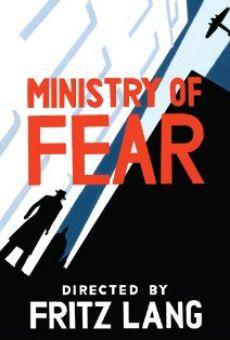 Ver película El ministerio del miedo