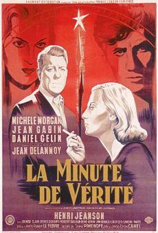 Ver película El minuto de la verdad