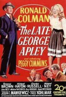 Ver película El mundo de George Apley
