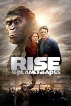 Ver película El origen del planeta de los simios