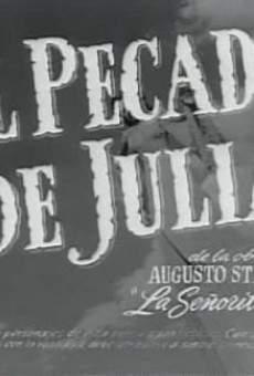 Ver película El pecado de Julia