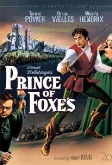 Ver película El príncipe de los zorros