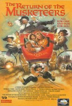 Ver película El regreso de los mosqueteros
