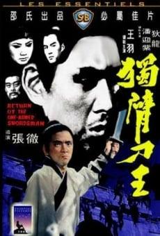 Ver película El retorno del espadachin manco