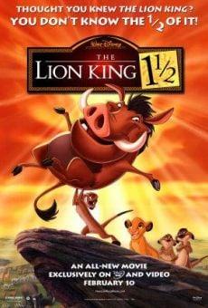 El rey león 3 - Hakuna Matata online