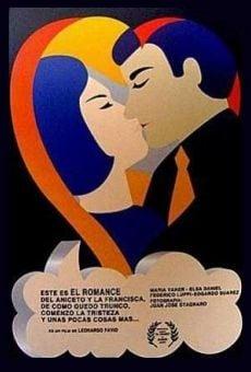 Este es el romance del Aniceto y la Francisca, de cómo quedó trunco, comenzó la tristeza y unas pocas cosas más...