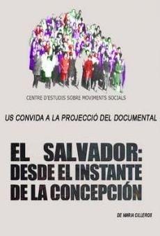 Película: El Salvador: desde el instante de la concepción