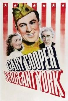 Sergent York en ligne gratuit
