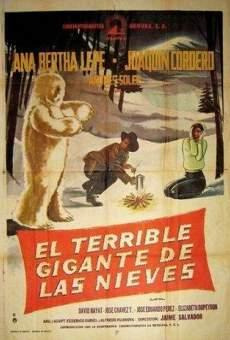 Ver película El terrible gigante de las nieves