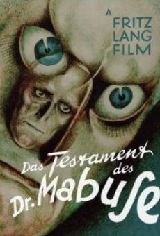 Ver película El testamento del Dr. Mabuse