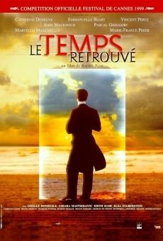 Ver película El tiempo recobrado