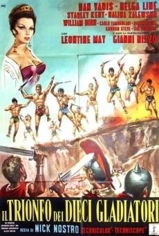 Il trionfo dei dieci gladiatori online kostenlos