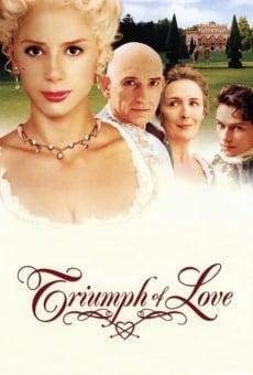 Ver película El triunfo del amor
