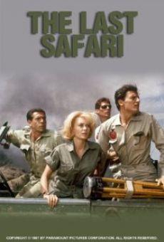 Ver película El último safari